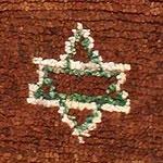 Judaic Motifs in Vintage Judaica Moroccan Rug 47913 by Nazmiyal