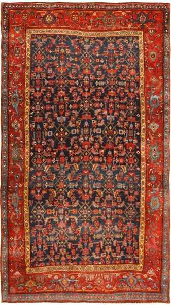 Antique Bidjar Persian Rug 41997