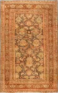 Antique Persian Sultanabad Rug 43053 Detail/Large View