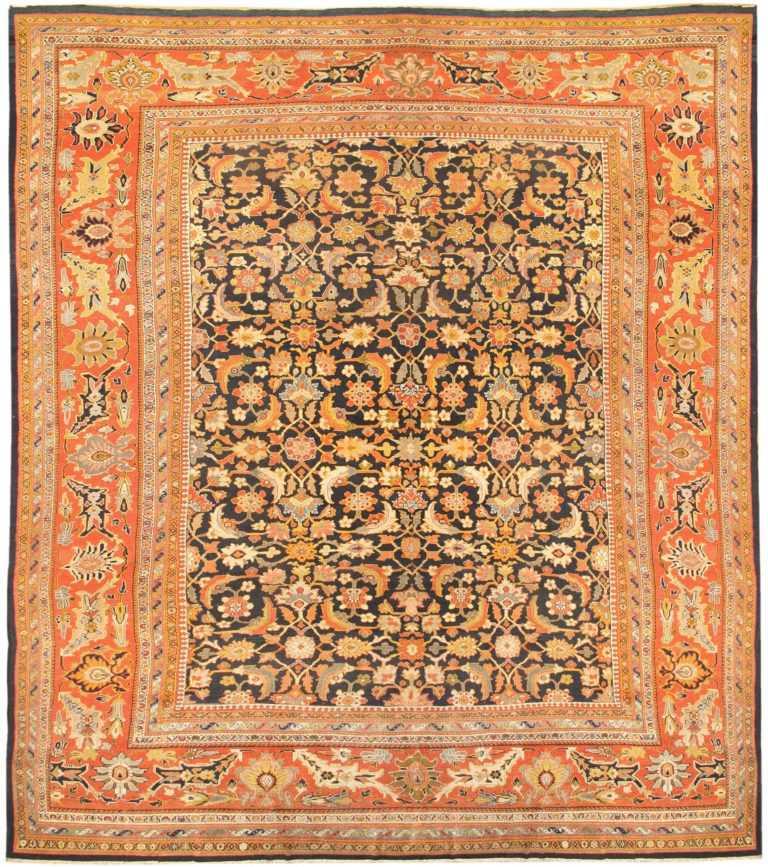 Oversized Antique Persian Ziegler Sultanabad Rug 3325 Nazmiyal