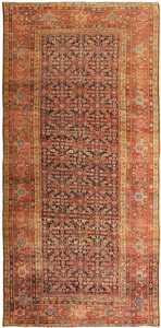 Persian Antique Sultanabad Rug 3054 Detail/Large View