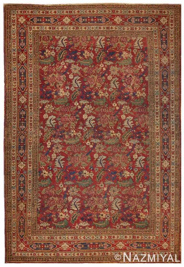 Antique Persian Kerman Rug 1150 Detail/Large View