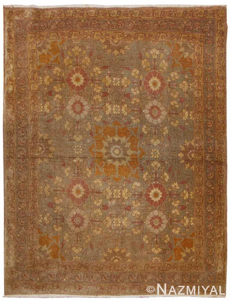 Antique Persian Tabriz Rug 42385 Detail/Large View
