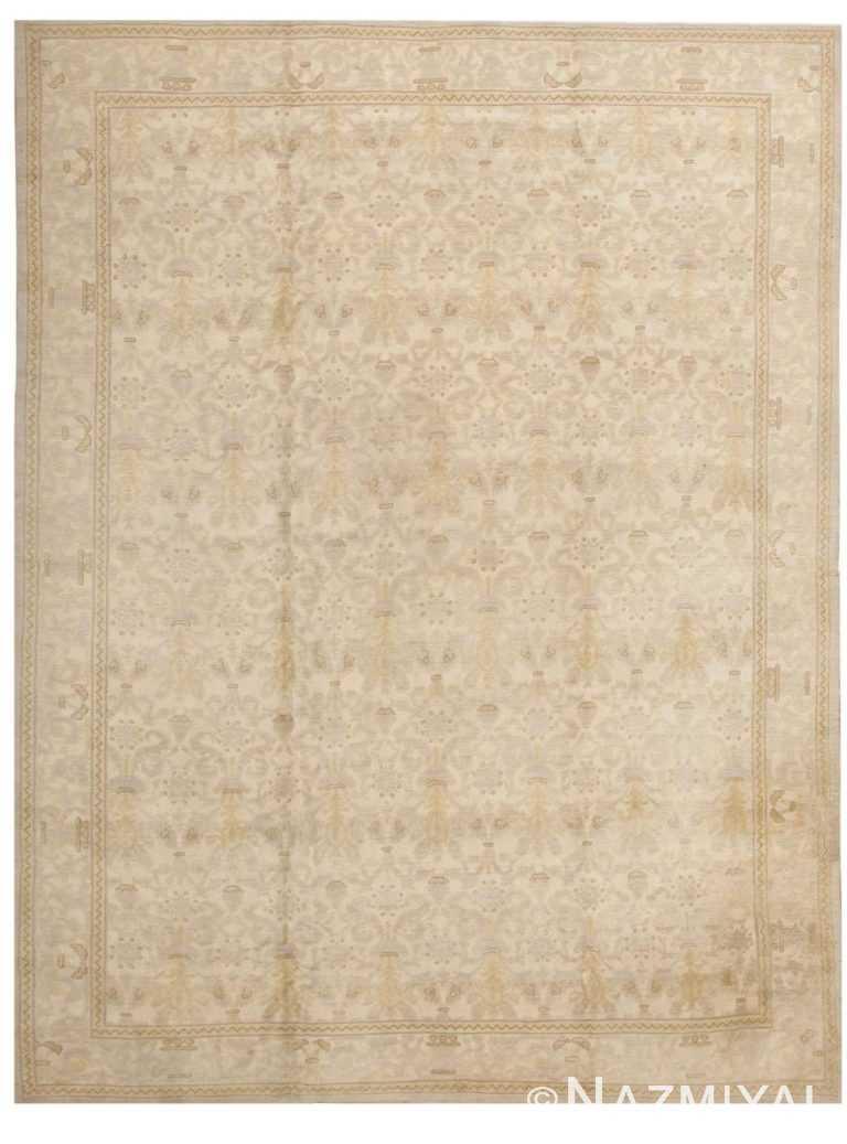 Antique Spanish Carpet 2678 Detail/Large View
