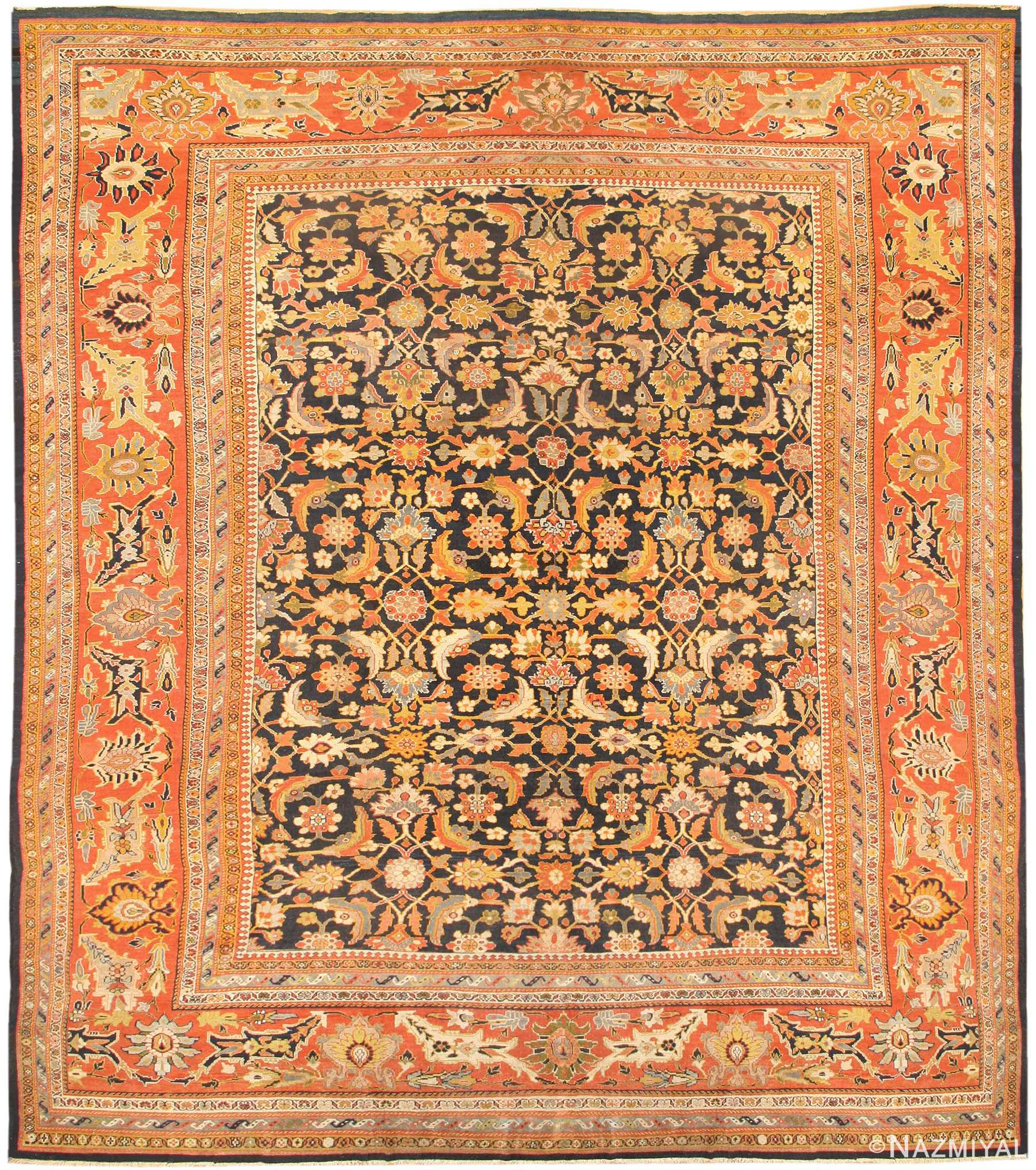 Vintage Persian Rugs: Antique Persian Sultanabad Carpets