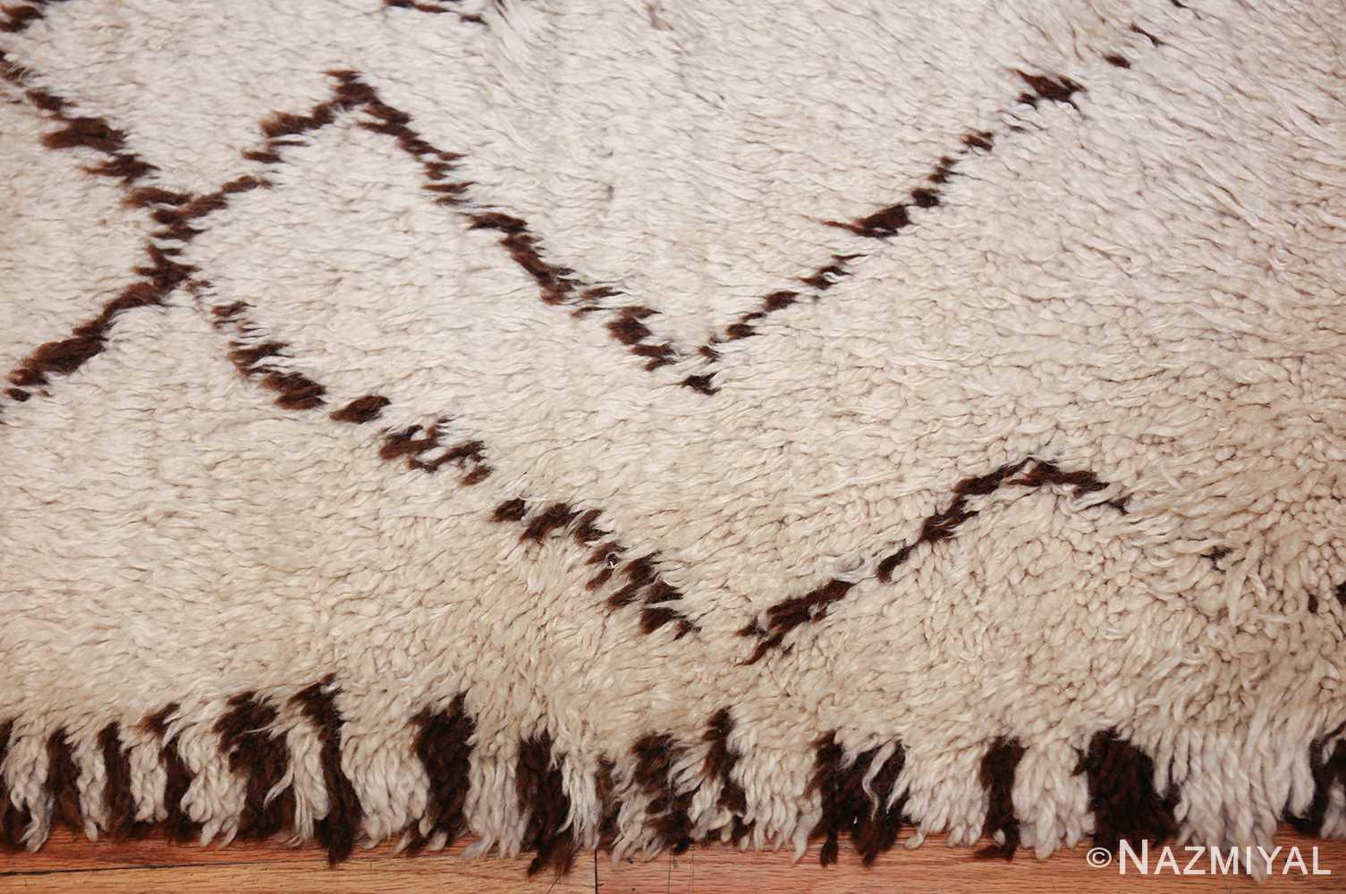 vintage moroccan rug 48390 border Nazmiyal