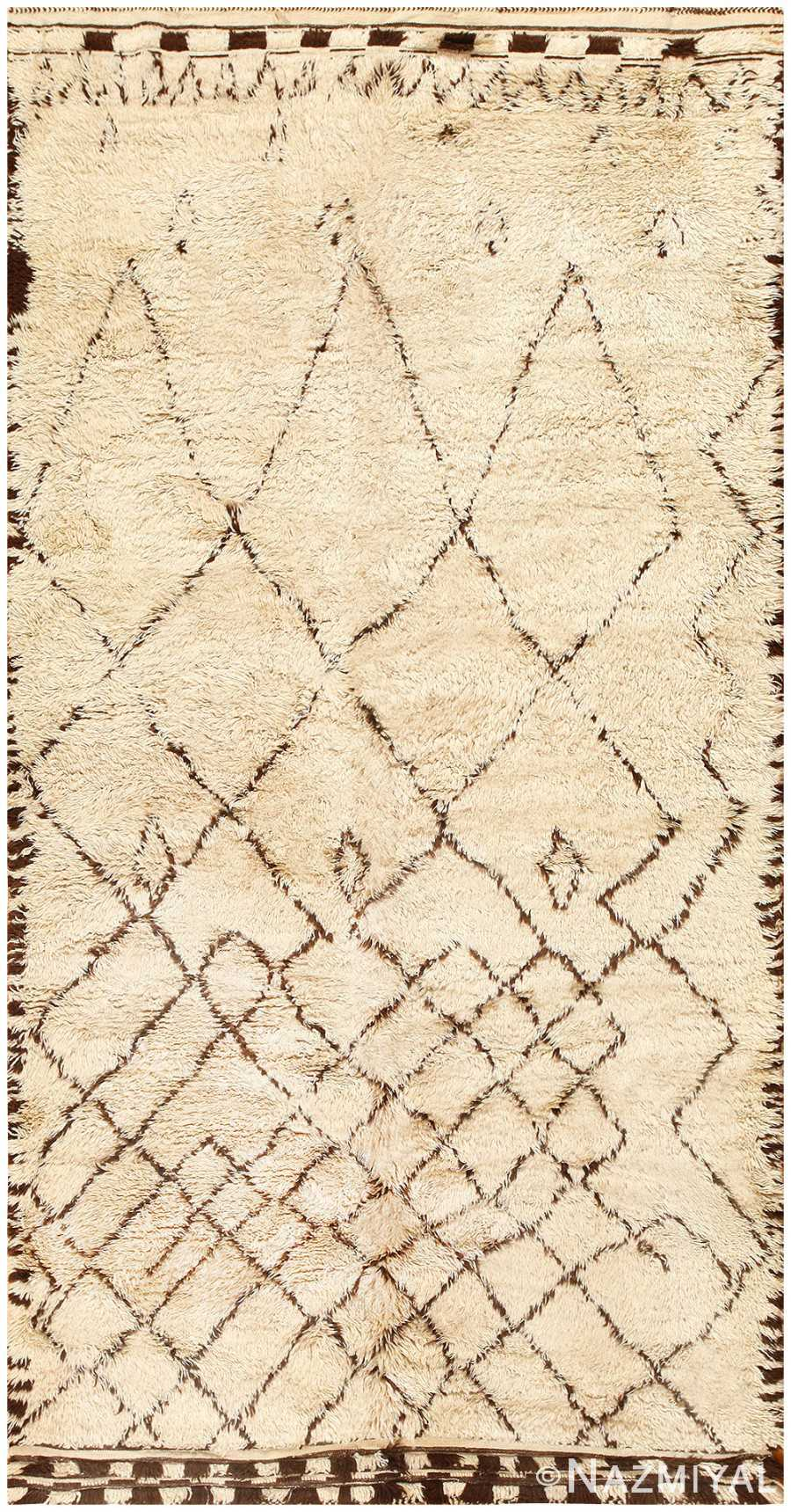 Vintage Moroccan Rug 48390 Detail/Large View