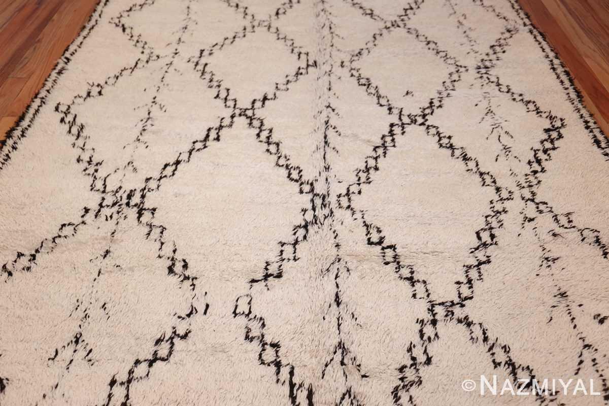 vintage moroccan rug 48393 field Nazmiyal