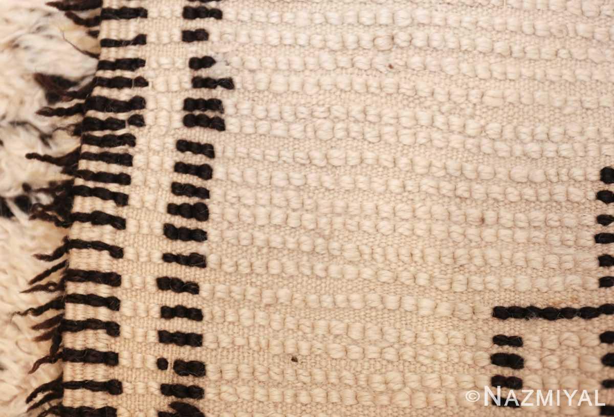 vintage moroccan rug 48393 weave Nazmiyal