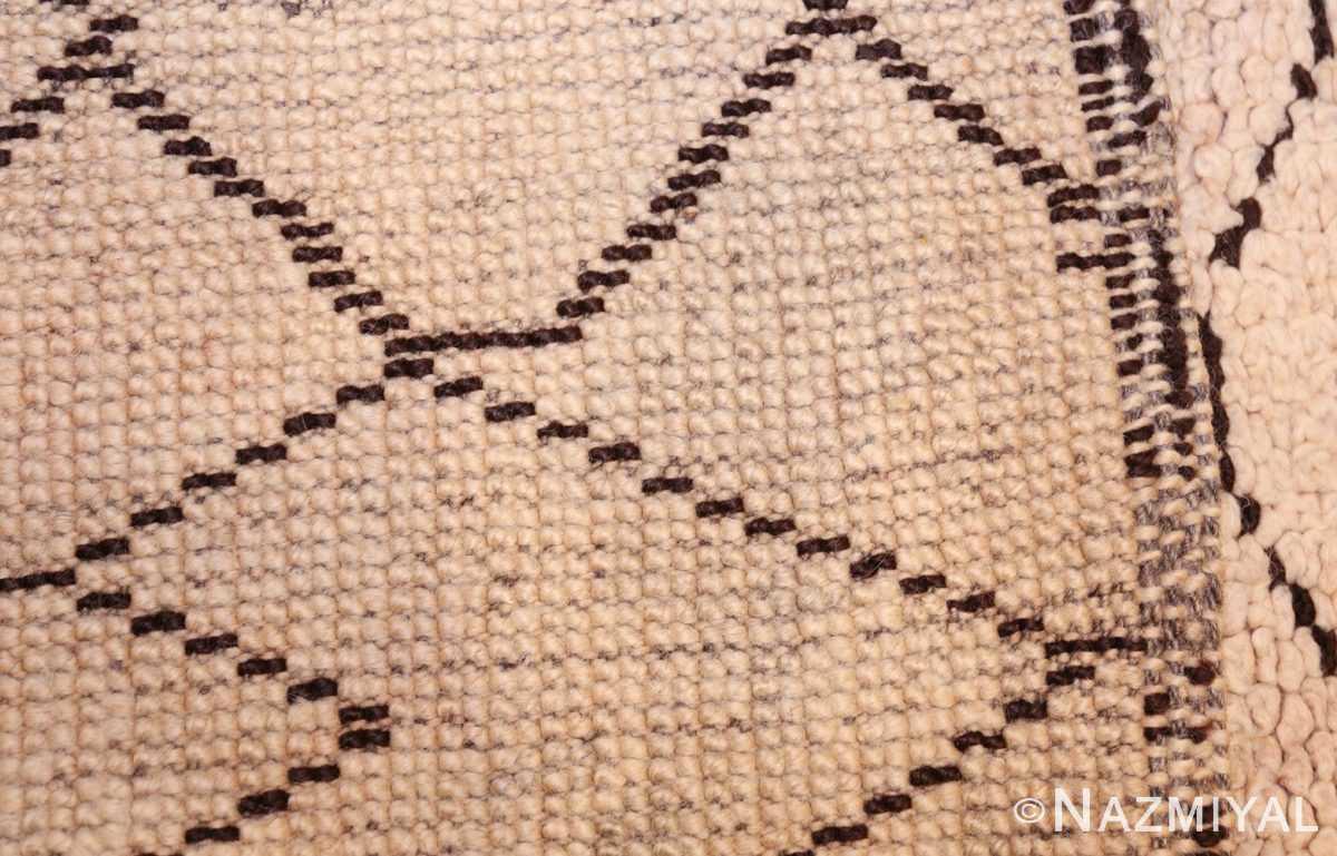 vintage moroccan rug 48401 weave Nazmiyal