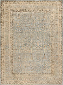 Antique Persian Kerman Carpet 46801