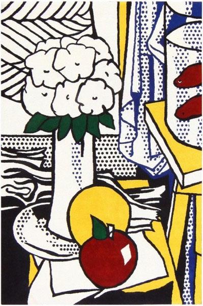 Rugs by Roy Lichtenstein at Nazmiyal