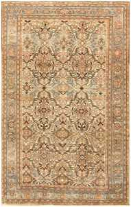 Room Size Antique Persian Malayer Rug 48292 by nazmiyal