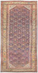 Antique Persian Sultanabad Rug 50145 Nazmiyal