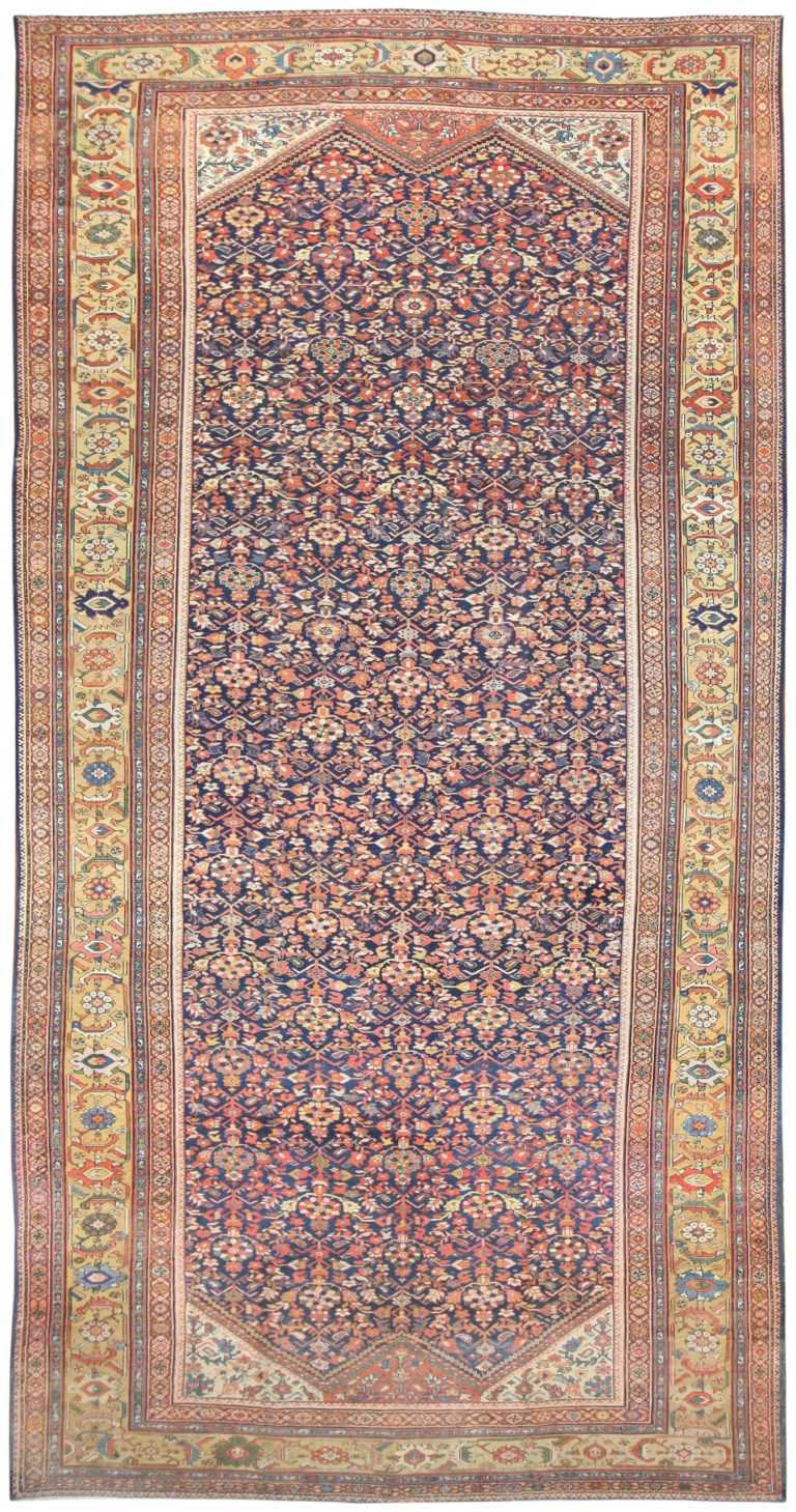 Antique Persian Sultanabad Rug 50145 Nazmiyal