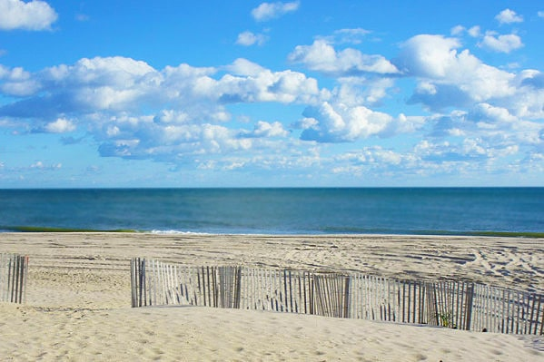 The Beach At The Hamptons in Long Island NY by Nazmiyal