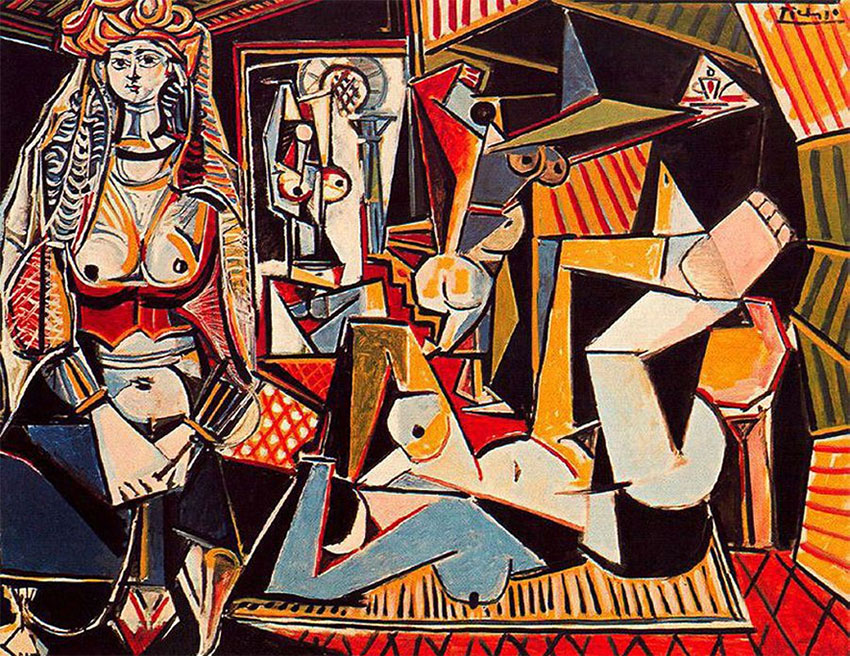 Women of Algiers (Version O) by Picasso
