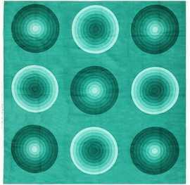 Vintage Verner Panton Textile 47728 Nazmiyal