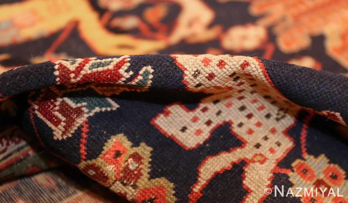 antique 18th century caucasian rug with animal design 48413 pile Nazmiyal