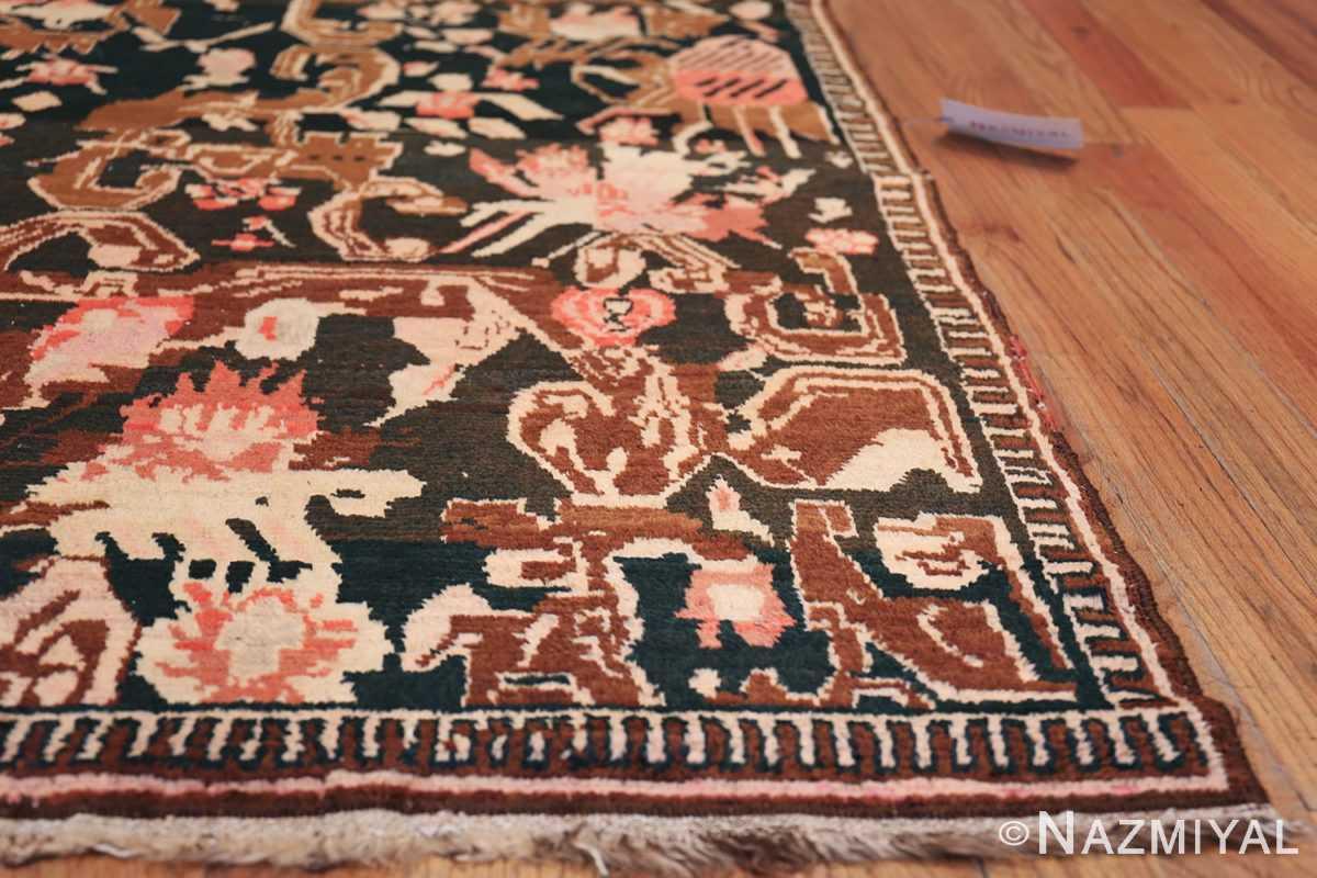 Antique Caucasian Karabagh Rug 50030 Side Corner Nazmiyal