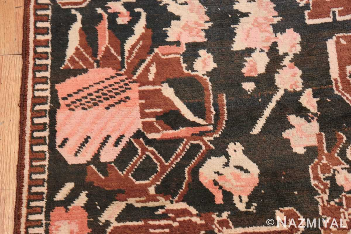 Antique Caucasian Karabagh Rug 50030 Tribal Rooster Nazmiyal