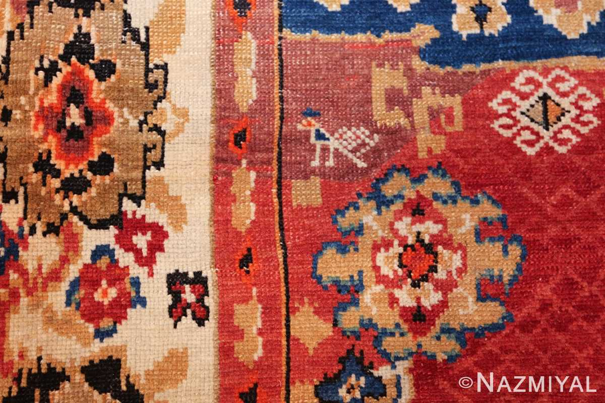 antique caucasian karabagh rug 50046 bird Nazmiyal