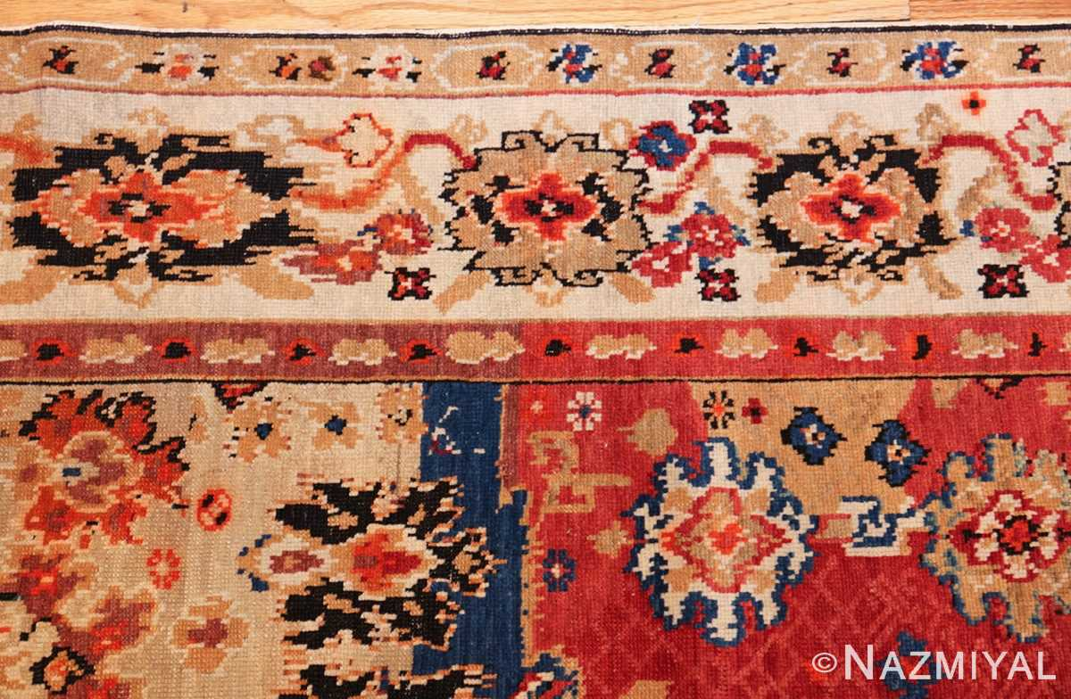 antique caucasian karabagh rug 50046 border Nazmiyal