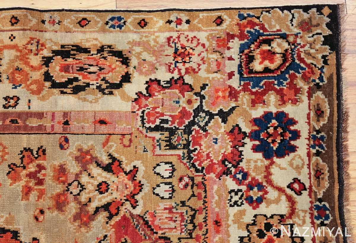 antique caucasian karabagh rug 50046 corner Nazmiyal