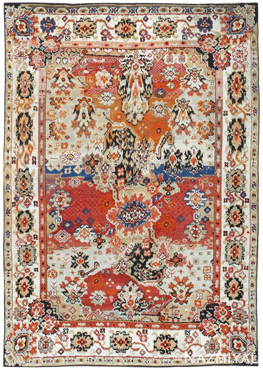 Antique Caucasian Karabagh Rug 50046 Nazmiyal