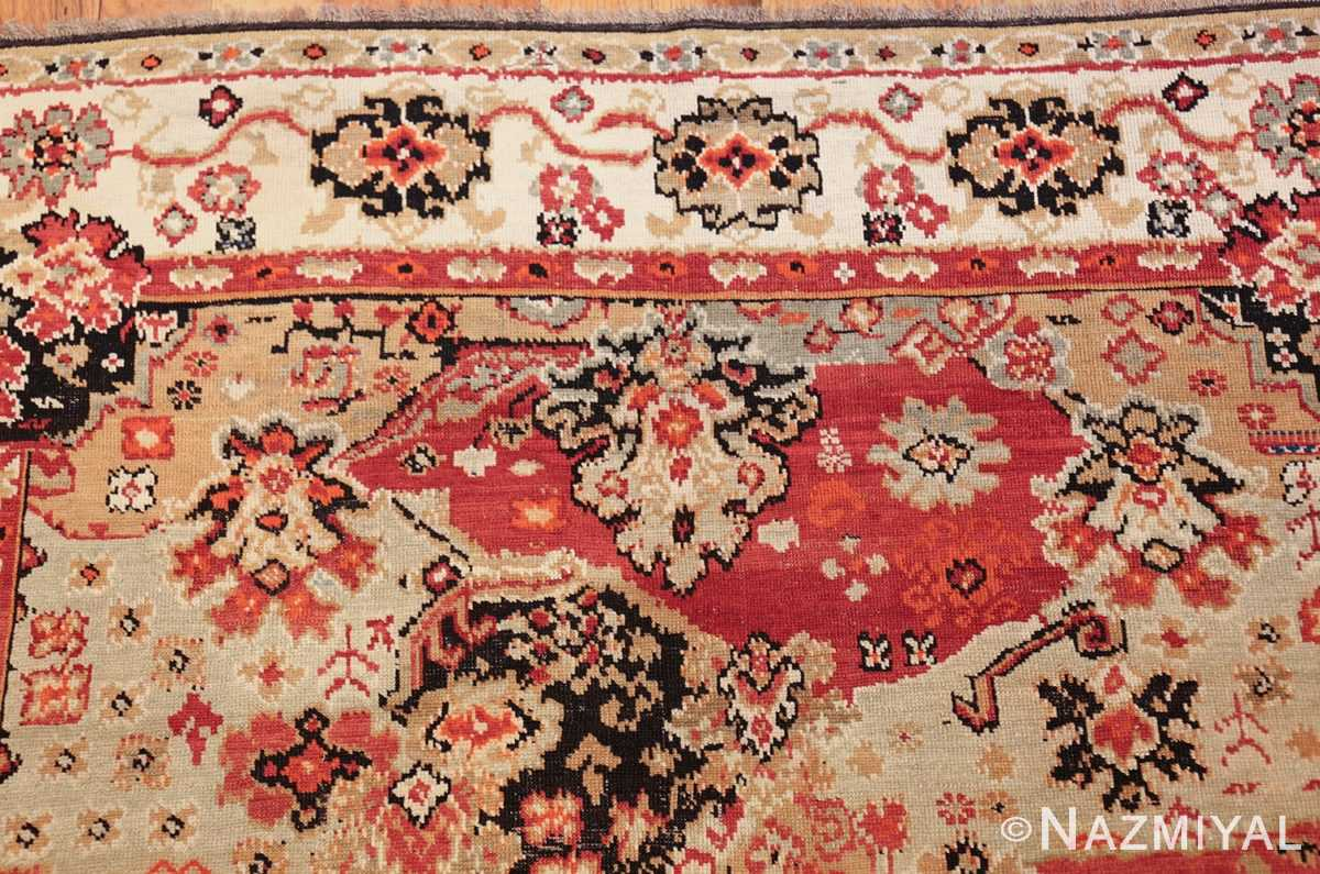 antique caucasian karabagh rug 50046 top Nazmiyal