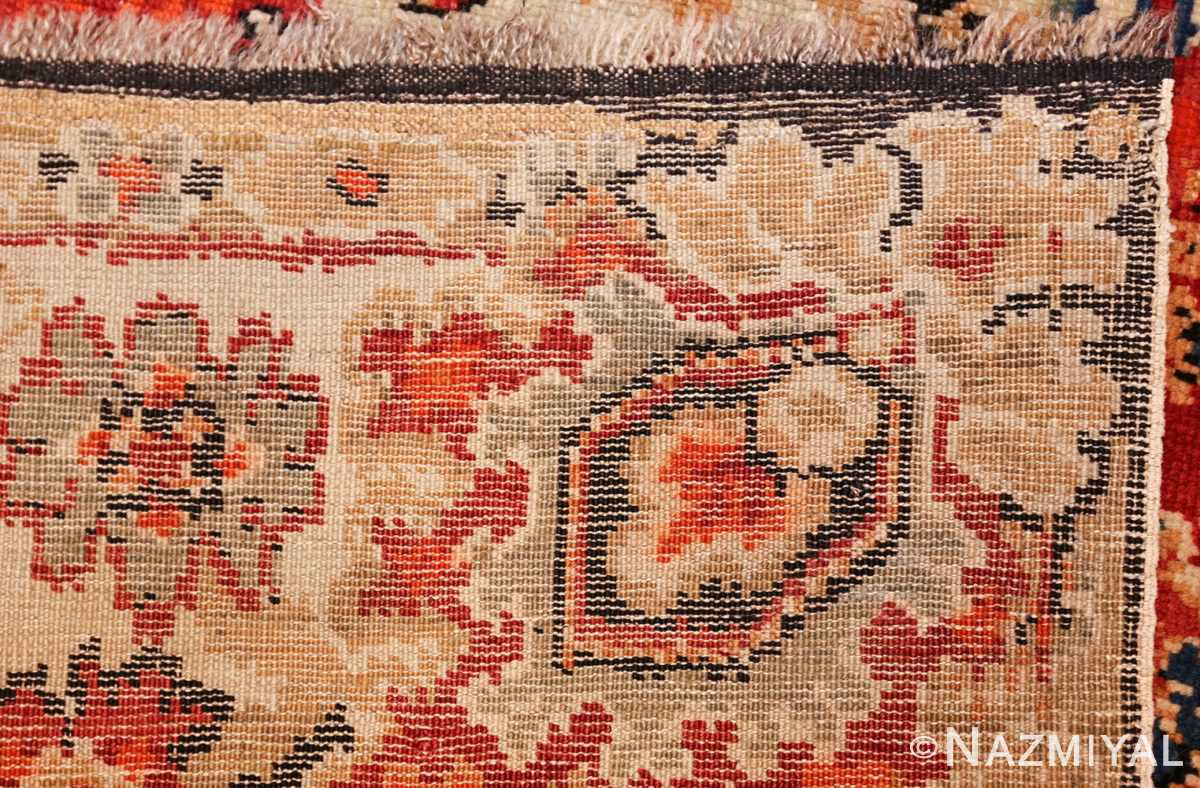 antique caucasian karabagh rug 50046 weave Nazmiyal