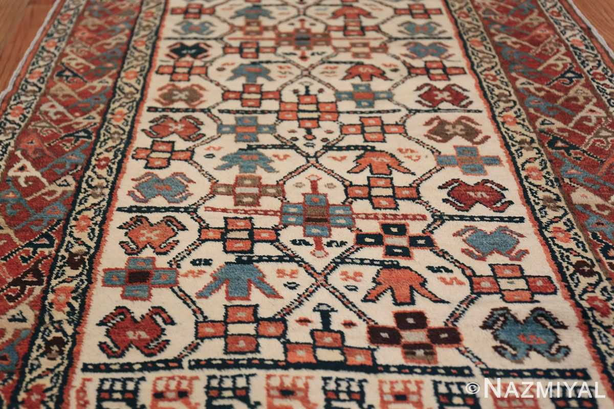 Antique Caucasian Kazak Runner 50048 Field Design Nazmiyal