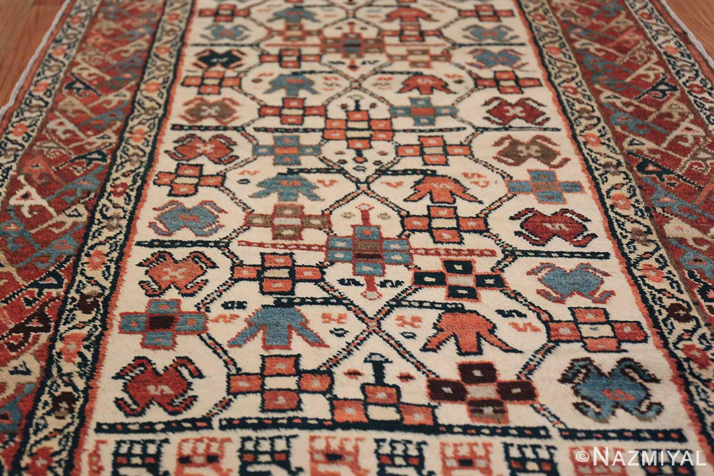 Antique Caucasian Kazak Runner 50048 Field Design Nazmiyal