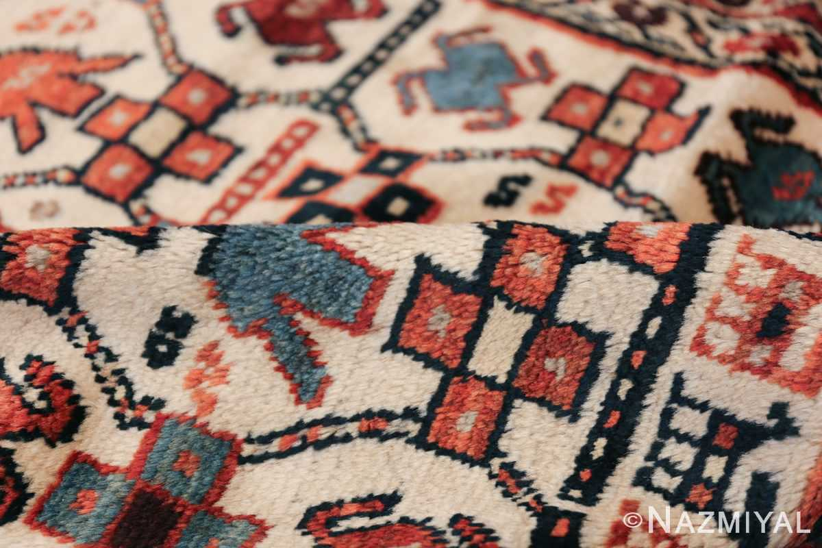 Antique Caucasian Kazak Runner 50048 Geometric Pile Nazmiyal