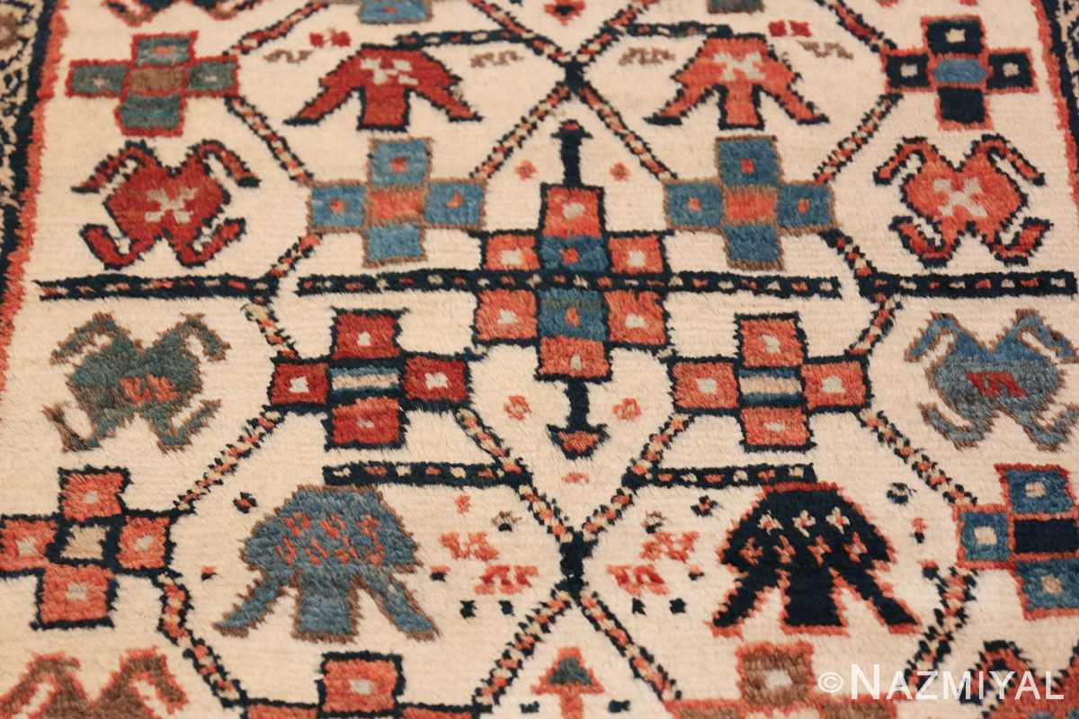 Antique Caucasian Kazak Runner 50048 Middle Part Nazmiyal