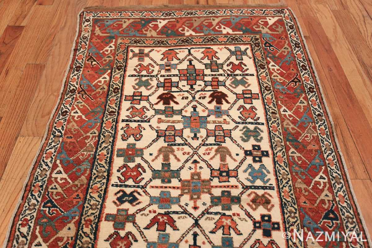 Antique Caucasian Kazak Runner 50048 Top Design Nazmiyal