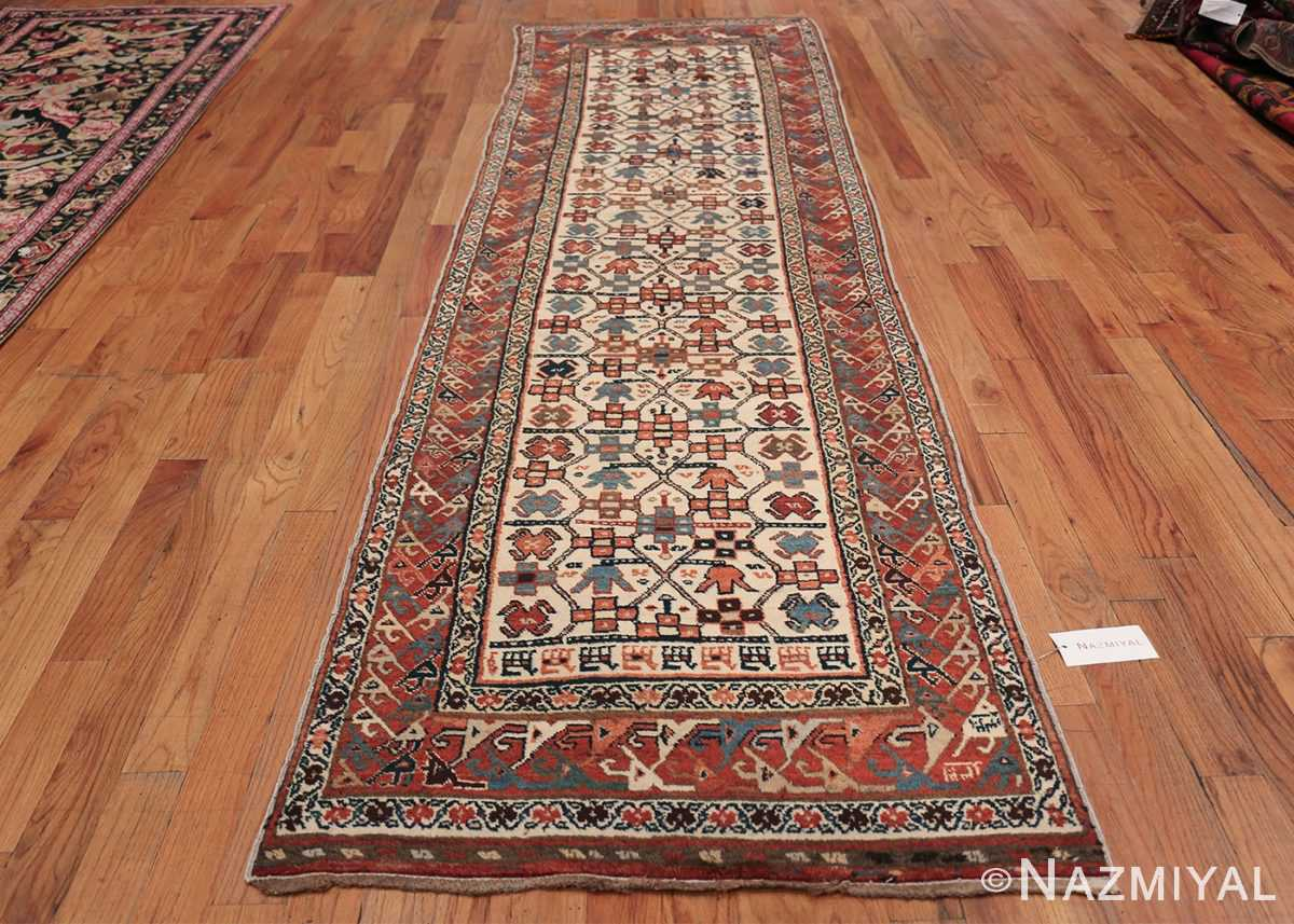 Antique Caucasian Kazak Runner 50048 Whole Design Nazmiyal