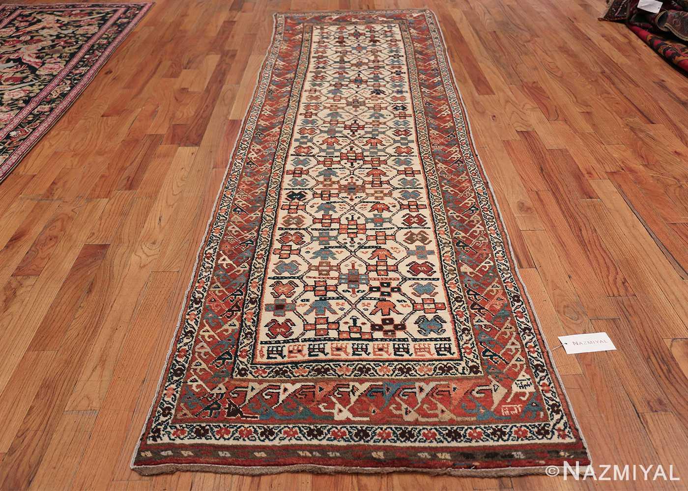 Antique Caucasian Kazak Runner 50048 Whole Design Nazmiyal