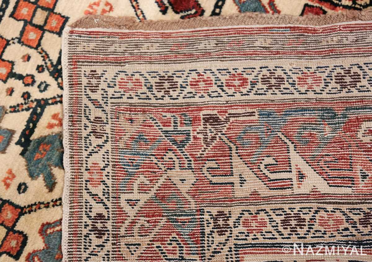 Antique Caucasian Kazak Runner 50048 Woven Knots Nazmiyal