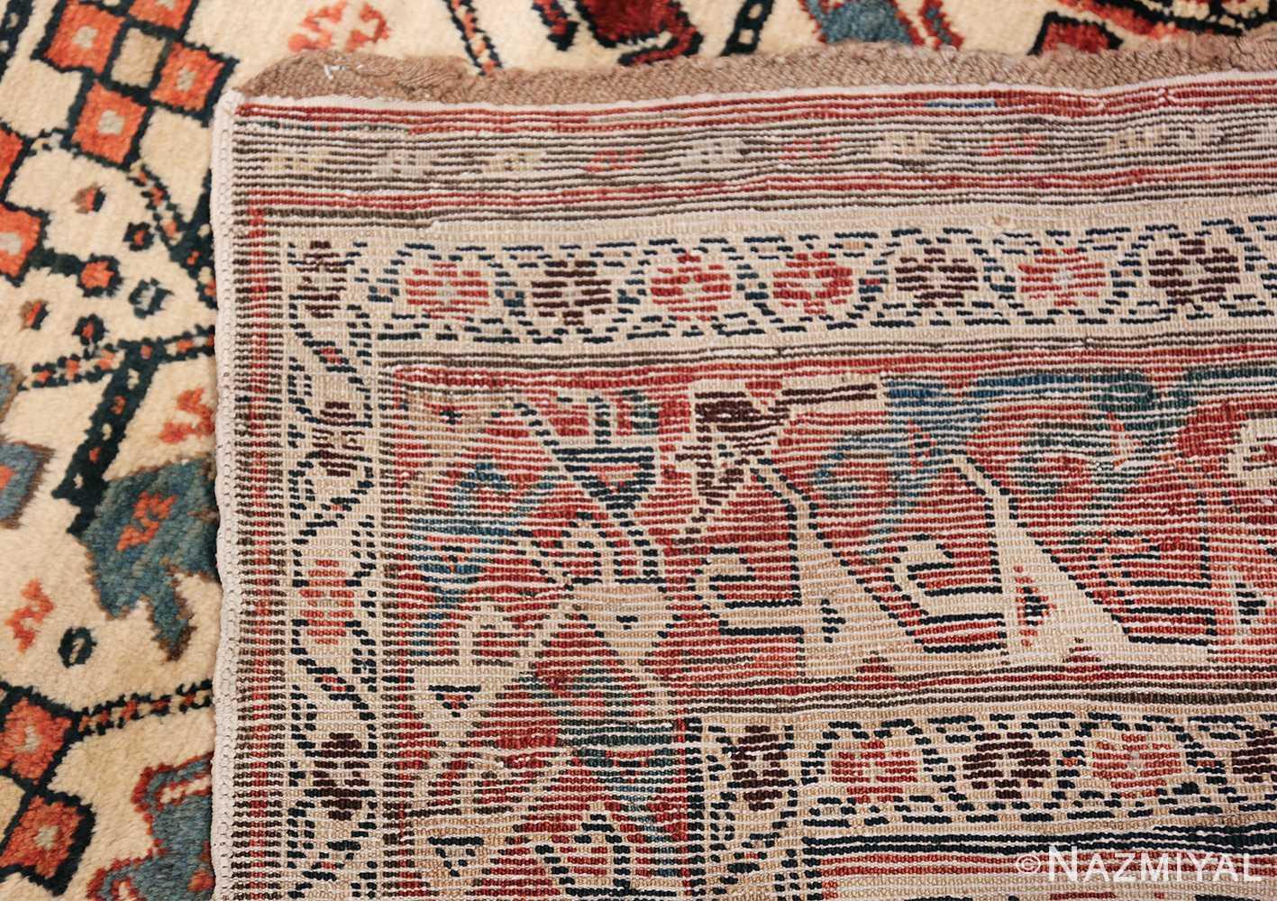 Antique Caucasian Kazak Runner 50048 Woven Knots Nazmiyal