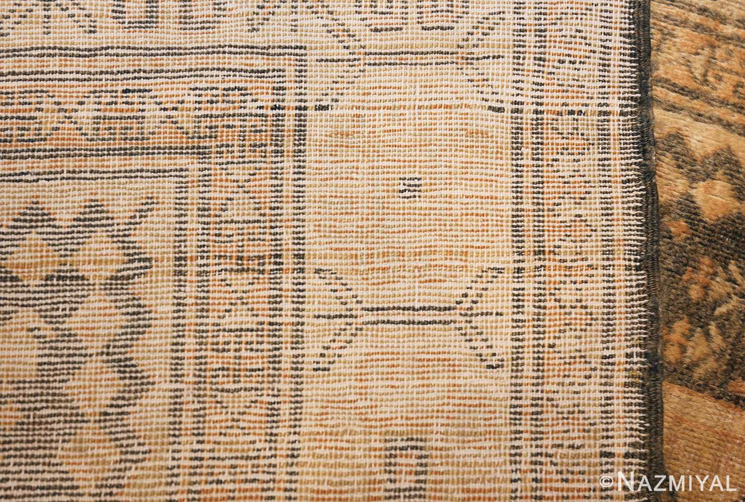 antique caucasian rug with tribal motifs 48092 top Nazmiyal