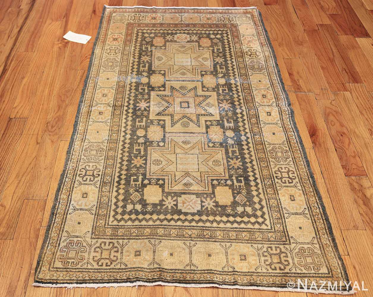 Antique Caucasian Rug With Tribal Motifs 48092 By Nazmiyal