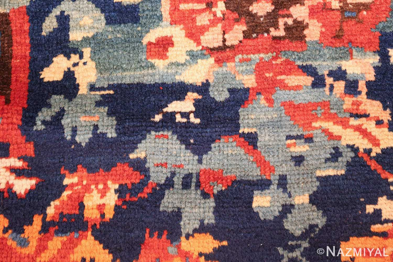 antique caucasian seychour rug 50040 animal Nazmiyal