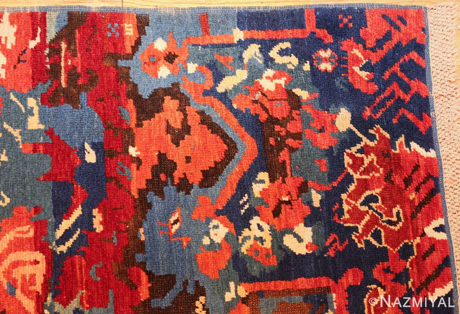 antique caucasian seychour rug 50040 corner Nazmiyal