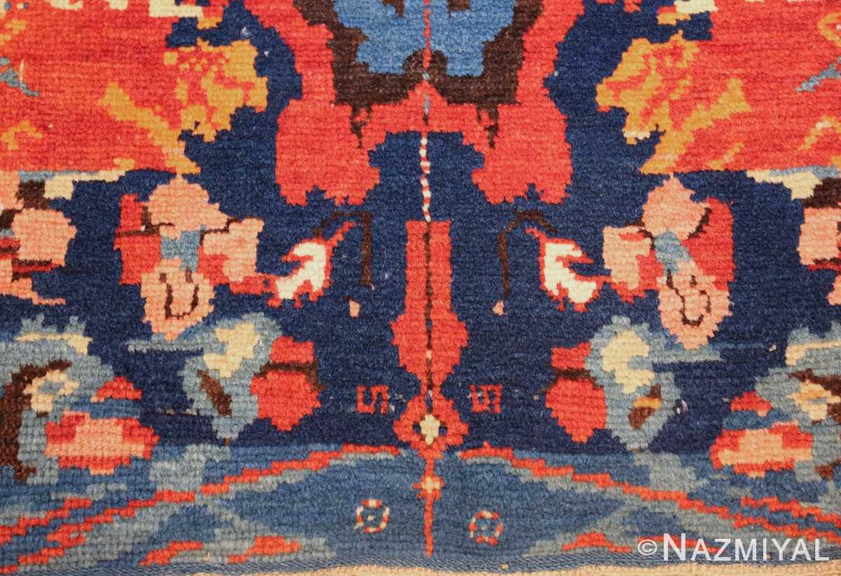 antique caucasian seychour rug 50040 down Nazmiyal