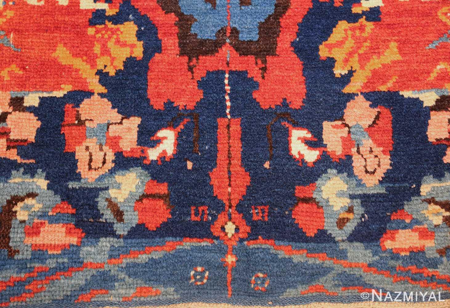 antique caucasian seychour rug 50040 down Nazmiyal