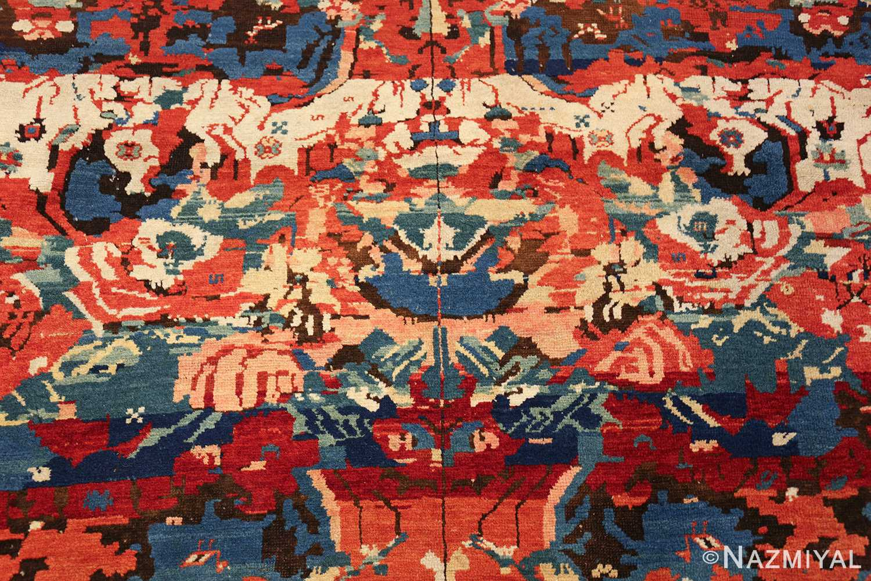 antique caucasian seychour rug 50040 middle Nazmiyal