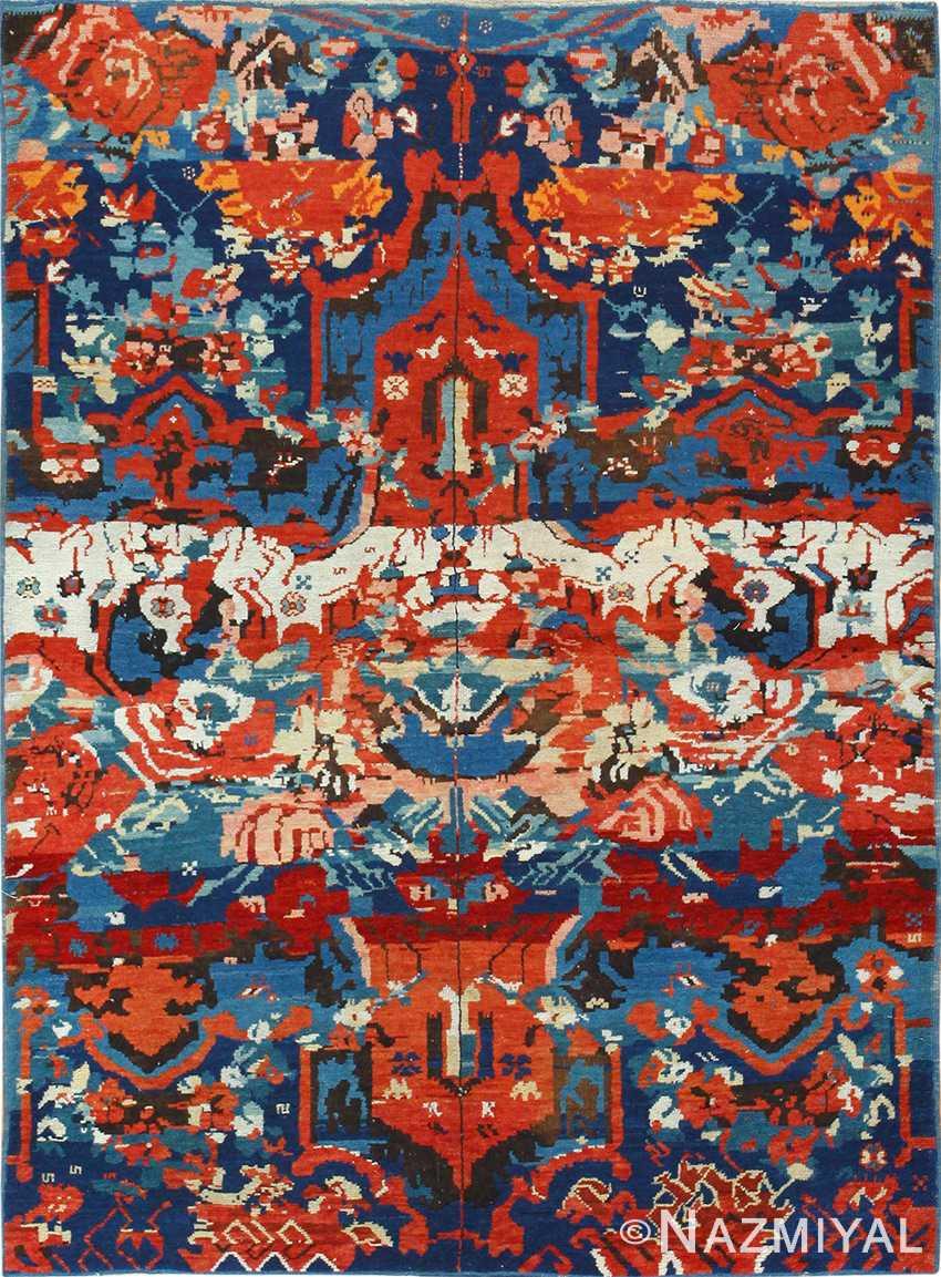 antique caucasian seychour rug 50040 Nazmiyal
