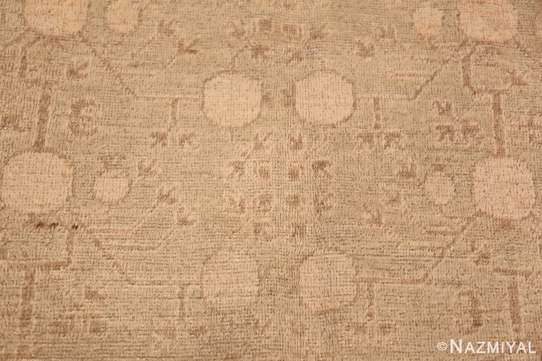 Antique East Turkestan Khotan Rug 50142 Four Pomegranate Nazmiyal