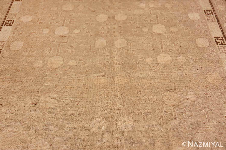 Antique East Turkestan Khotan Rug 50142 Middle Part Nazmiyal